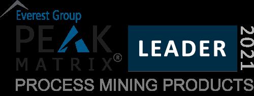 Process Mining Products 2021 - PEAK Matrix Award Logo - Analyst Batch for Software AG